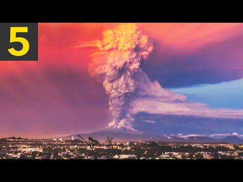 Top 5 Volcano Eruptions Caught on Camera