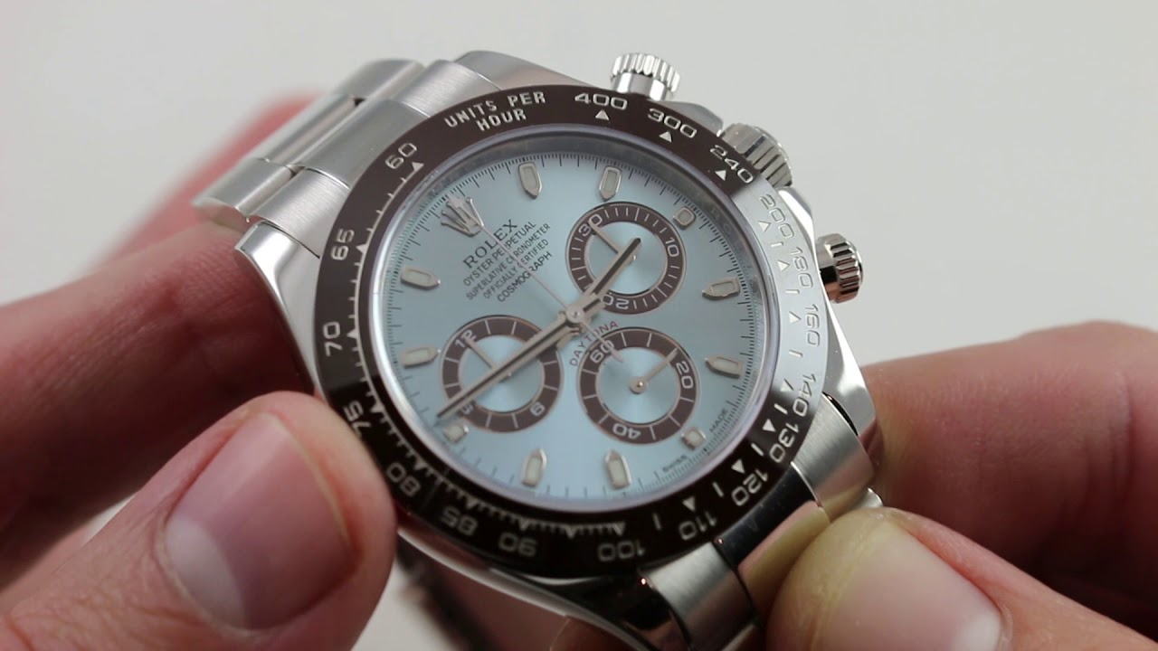 Pre Owned Rolex Daytona Anniversary Edition 116506 Luxury Watch Review