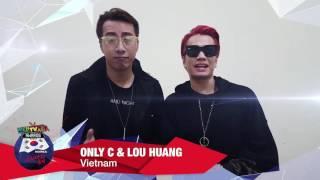 WebTVAsia Awards 2016 Shoutout - Only C & Lou Huang