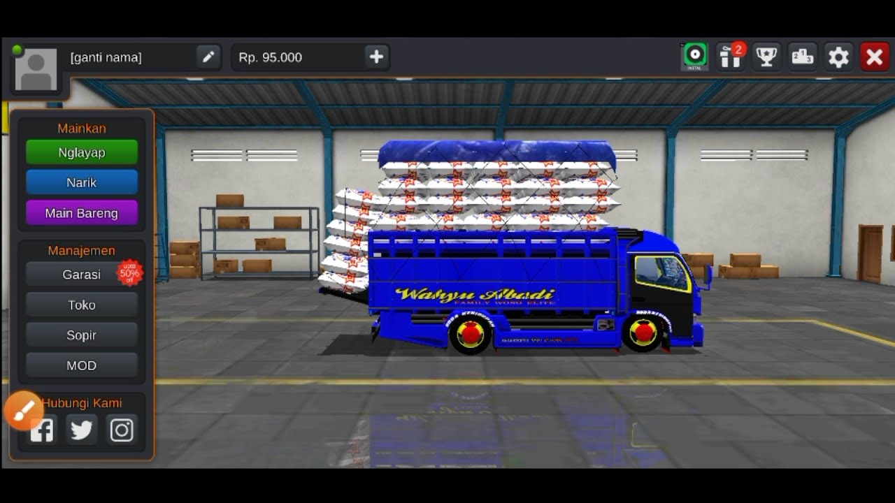 Cara Bus Simulator Jadi Truk Youtube