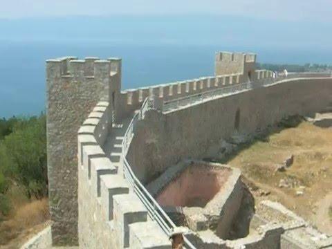 Emperor (Tsar) Samuil's Fortress, 10th century, Ohrid Macedonia