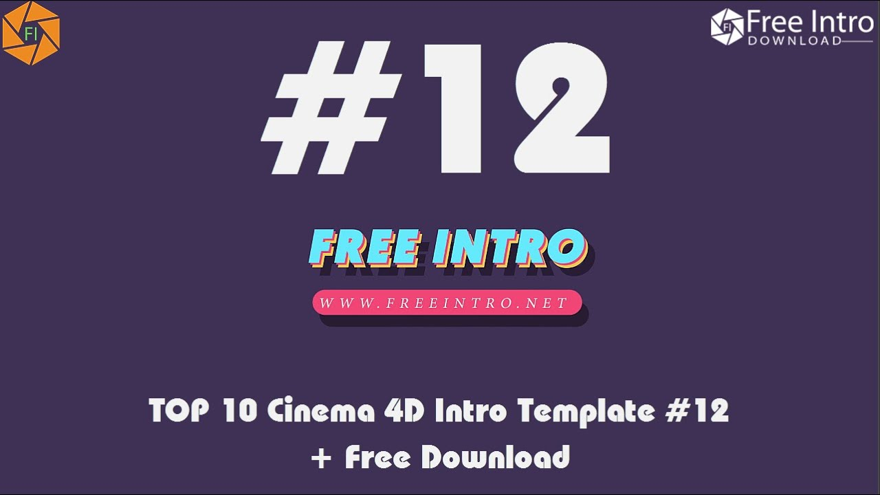 Free cinema4d intro template: project genesis 4 youtube.