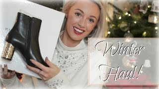 Winter Footwear & Accessories Haul & Gift Wrapping Ideas!   |   Fashion Mumblr AD