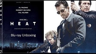 Heat (Director's Definitive Edition) Blu-ray Unboxing [Filmed in 4K]