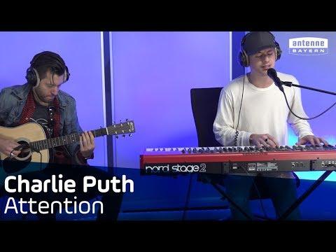 Charlie Puth | Attention | ANTENNE BAYERN