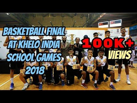 Boys Basketball Final || Khelo India School Games || Finals Between Delhi and Punjab
