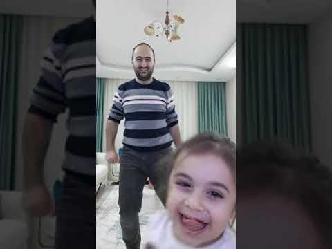Arya Naz Babasıyla Zumba Yaparsa :D