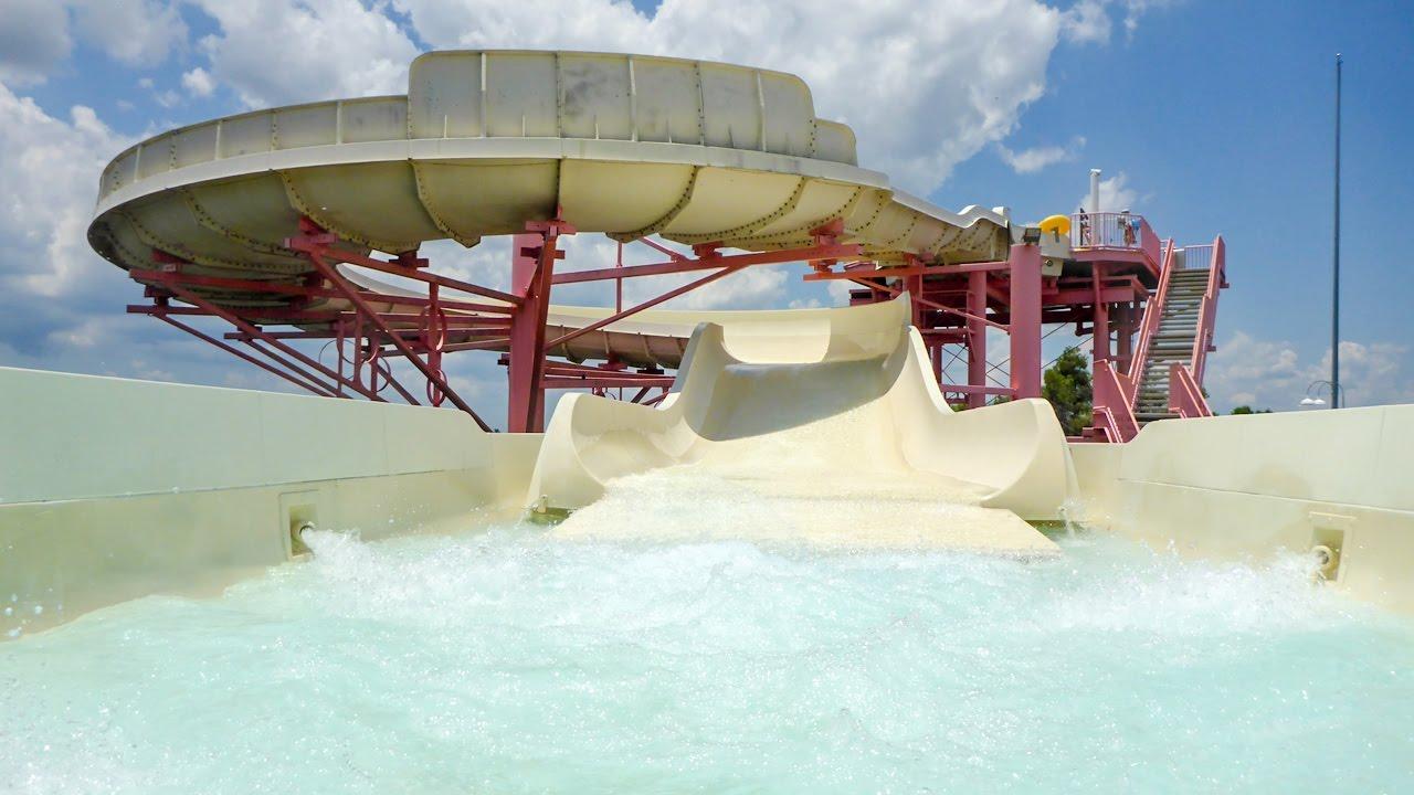 Adventure Island Tampa: Key West Rapids Ride Onride POV