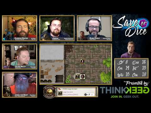 Save or Dice | Episode 3 - A Doll's Life | Web DM, Nerdarchy, Taking20, DawnforgedCast