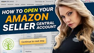 How to open your Amazon Seller Central Account
