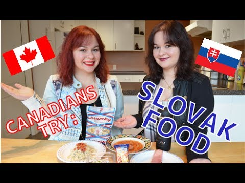 Canadians Try: Slovak Food (FULL VERSION)