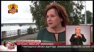"""Top filmas """"Ābols upē"""" arheoloģija"""