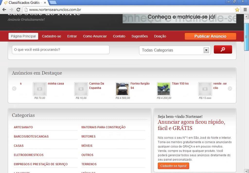 Classipress 3 3 portugues Br criar site de anuncios tema wordpress ...