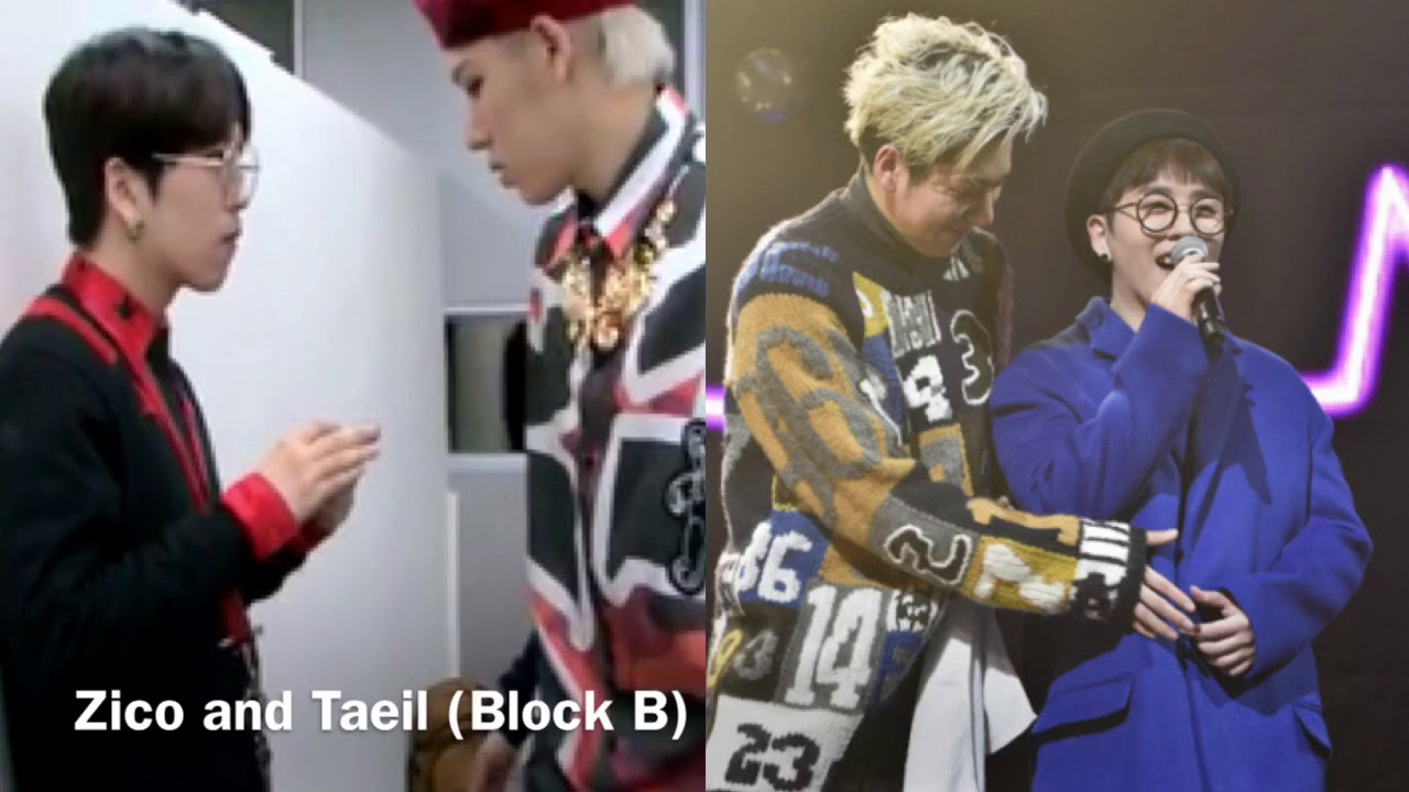Kpop: Male idols with cute height differences