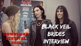 Interview with Andy and CC of Black Veil Brides (DOWNLOAD)