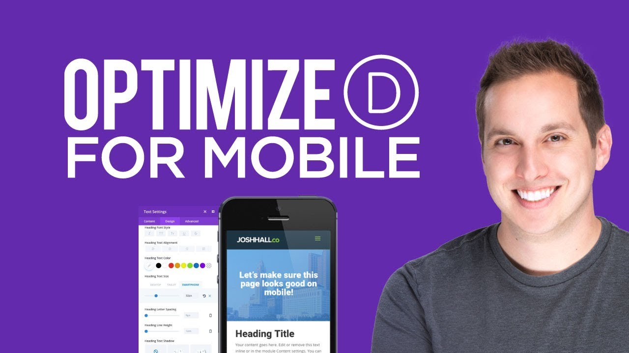 How to Optimize Divi for Mobile Using the Visual Builder - Y