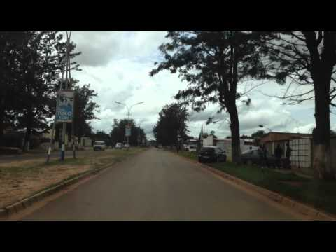 15 minute drive through Kolwezi, DR Congo