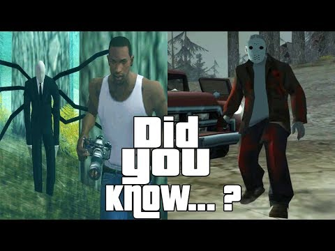 GTA San Andreas Secrets and Facts 6