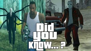 GTA San Andreas Secrets and Facts 6