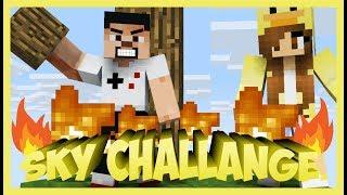 HARİTAYI YAKTIM  O_o   - Görevli Sky Block - Sky Challenge - 5