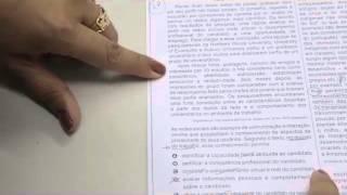 CHROMOS GABARITO ENEM 2015 - Kelly - Português - Questão 105 - Prova Amarela