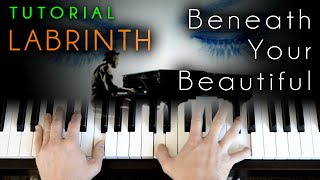 Labrinth - Beneath Your Beautiful (piano tutorial)