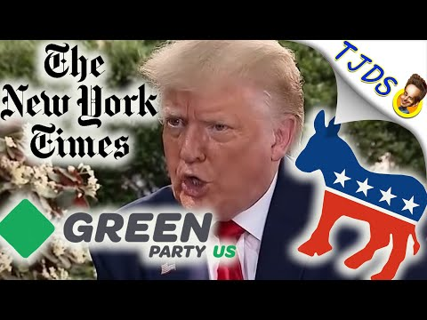 Green Party HIT PIECE by the New York Times!