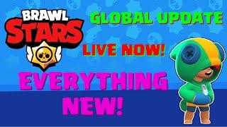 BRAWL STARS GLOBAL UPDATE! Info + Gameplay