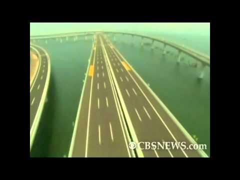 World's longest cross-sea bridge opens in China