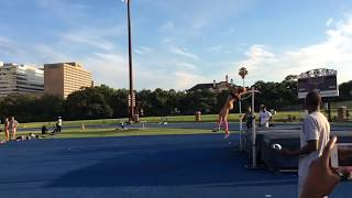 Inika McPherson - 2.00m attempt