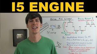 Inline 5 Cylinder Engine - Explained