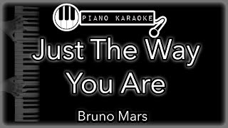 Just the way you are - Bruno Mars - Piano Karaoke