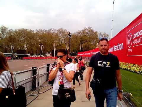 Preparing Event Maraton at Buckingham Palace London. Istana Buckingham, #2