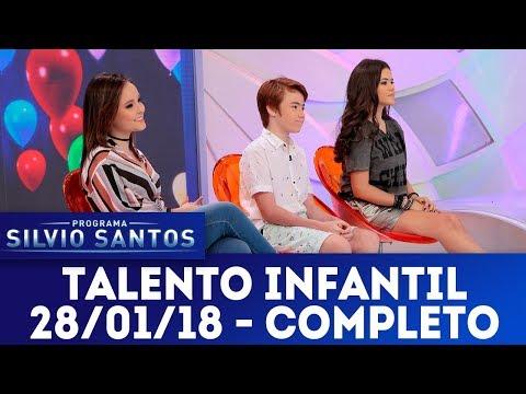 Talento Infantil | Programa Silvio Santos (28/01/18)