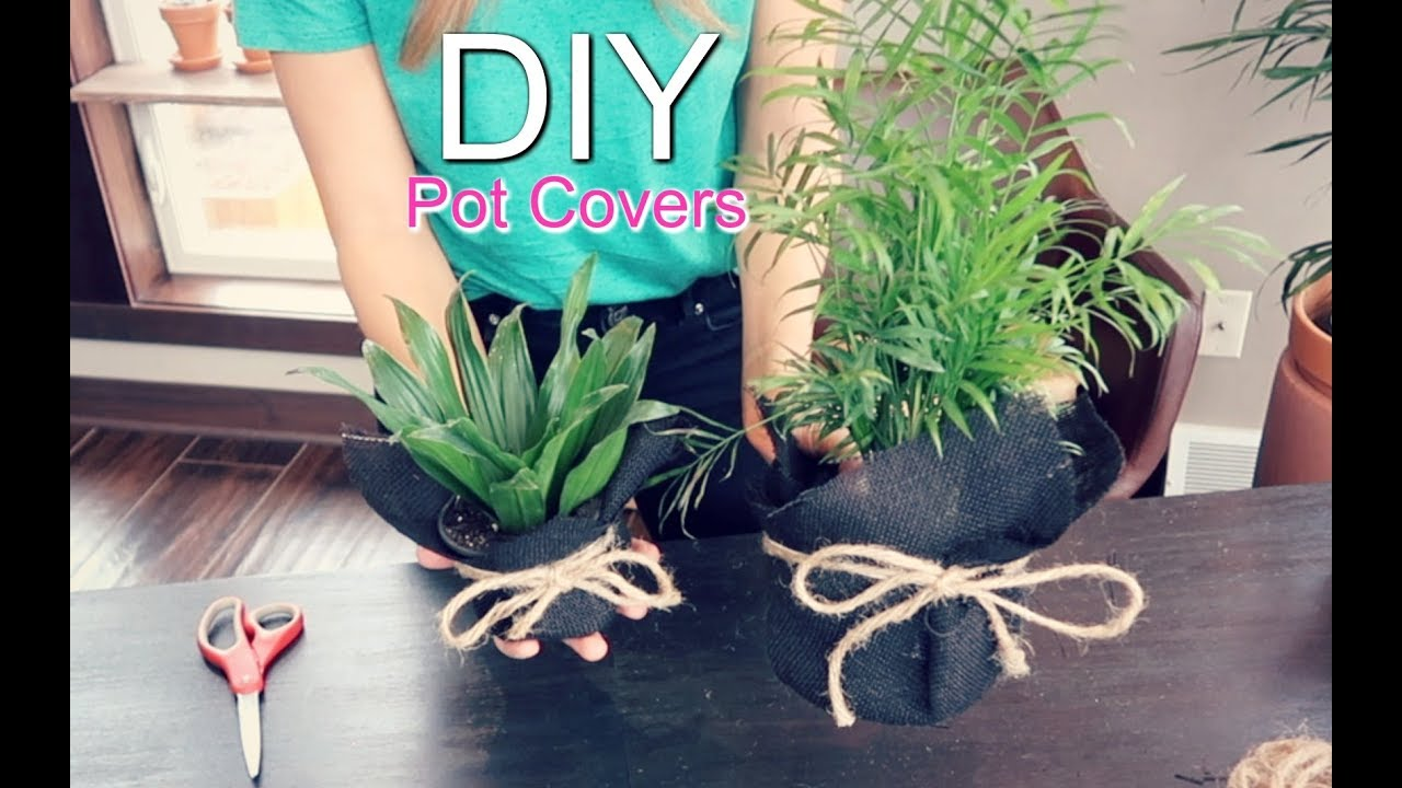 Diy Pot Covers For Plants Trendy Pots How To Youtube