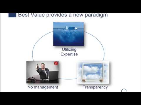 Video: Best Value Procurement for IT Projects