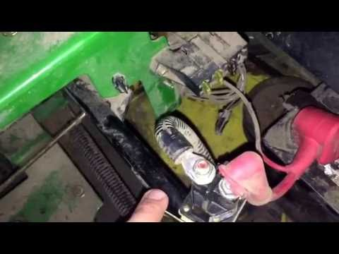 Repeat John Deere Z225 Starter Solenoid Replacement by MJM's