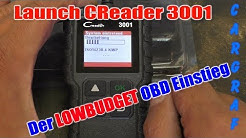 Launch Creader 3001 - Einstieg in die OBD Diagnose
