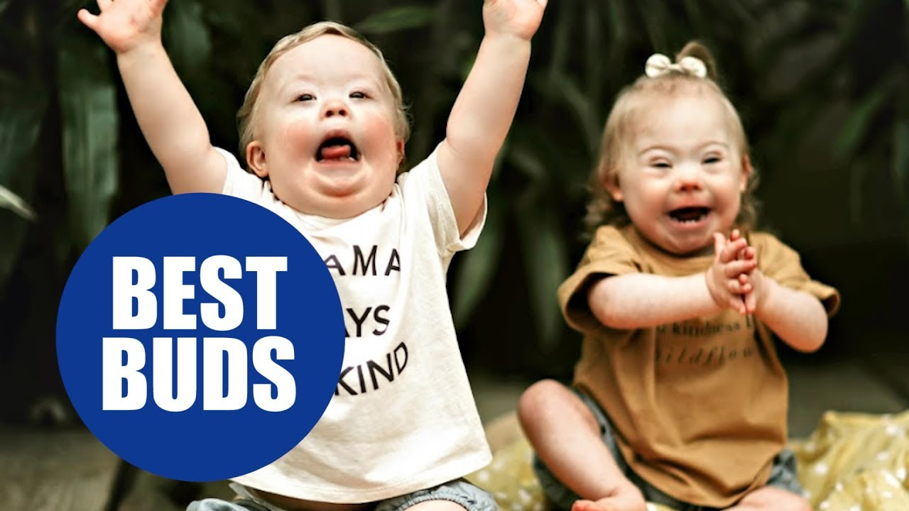 Video | Cute baby with Down syndrome playing and having fun with his