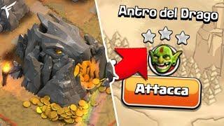 """Come TRISTELLARE """"Antro del Drago"""" ? 🐲 Clash of clans"""