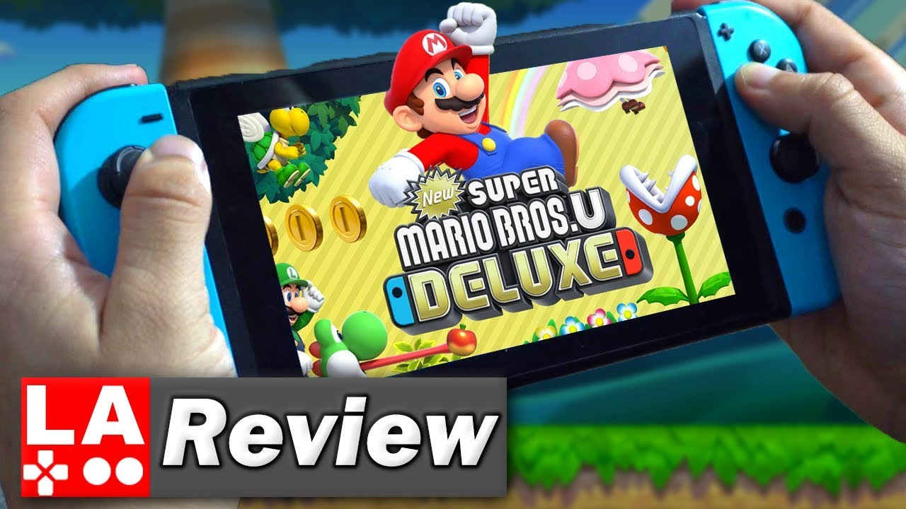 ᐅ Video Review ᐅ New Super Mario Bros U Deluxe Review Nintendo Switch