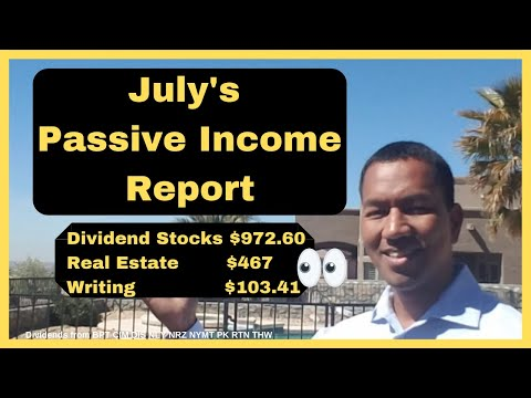July's Passive Income Strategy (How mother nature is costing me money)
