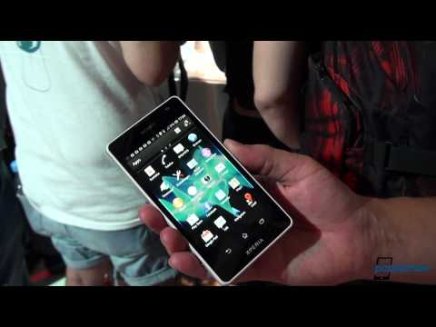 Sony XPERIA Tx Hands-On