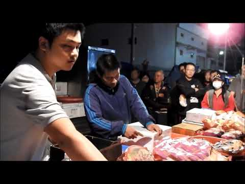 seafood auction -Taiwan changhua Xihu  Wednesday nightmarket ep.2