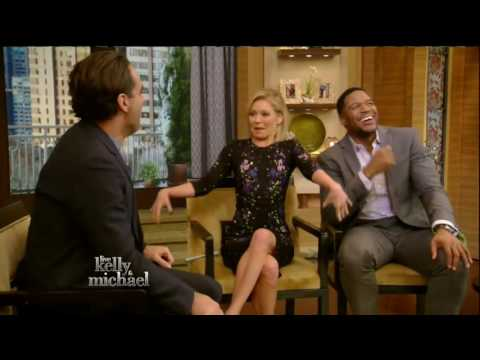 Bobby Cannavale interview Live! With Kelly and Michael 02.11.2016