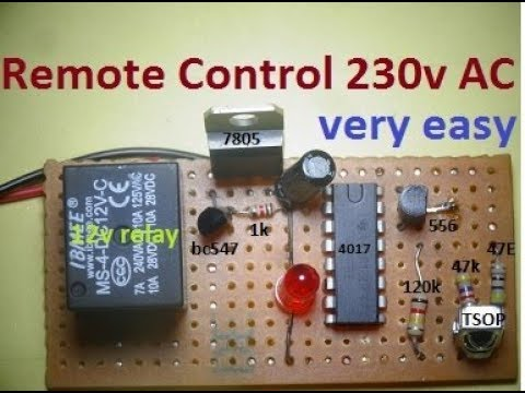 REMOTE CONTROL 230v APPLIANCES