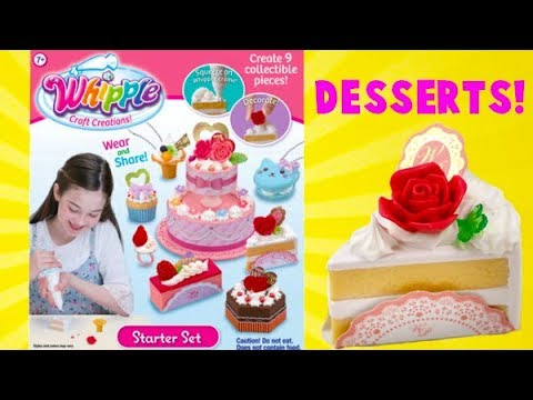 Whipple Starter Set! I Make Delicious Looking Desserts!