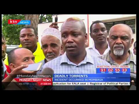Six people killed in Mombasa after wall collapsed due to heavy rains