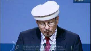 French - Zikre Habib: Regard for the Less Fortunate - Jalsa Salana USA 2012