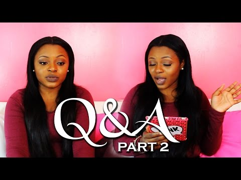 Q&A - Part 2 - Celebrity Crush, Role Model, Marriage, Living IN Jamaica, Family Approval?